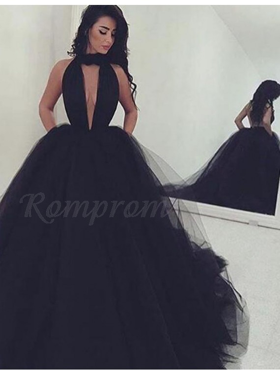 Ball Gown Pageant Dresses Dark Blue
