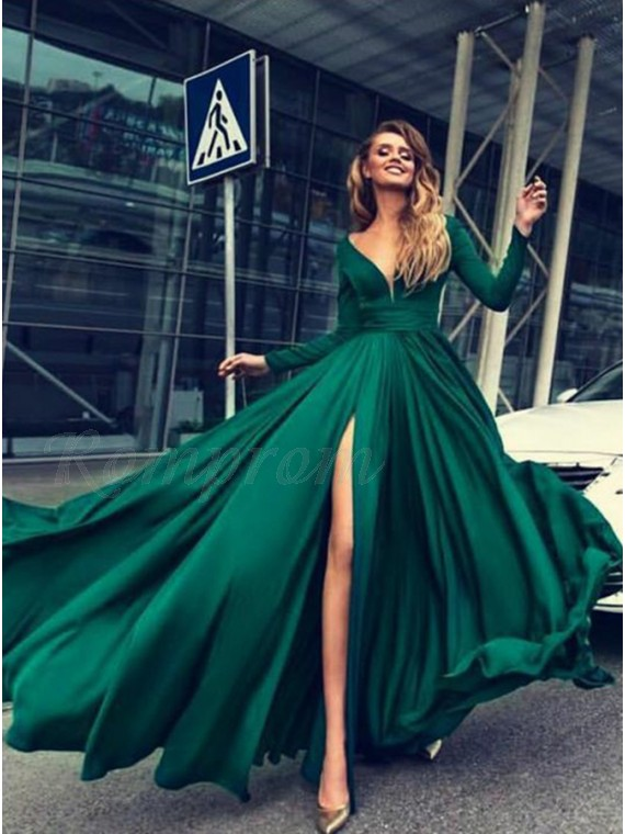 Appropriate Prom Dresses Green