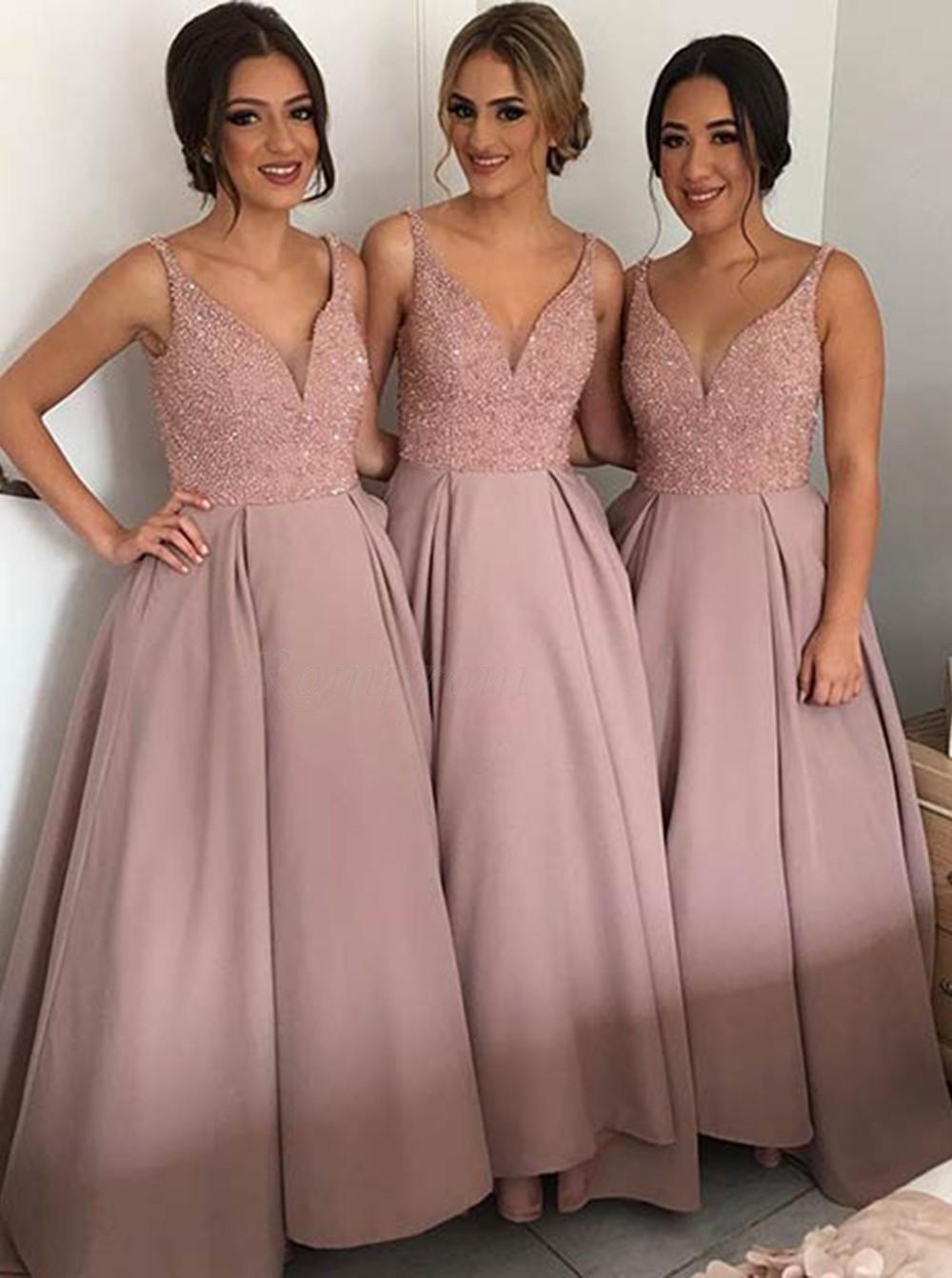a2742bfa968 Silver Bridesmaid Dresses Sequin