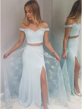 f7c0013ad54917 Affordable Two Piece Prom Dresses, 2 Piece Dresses for Prom